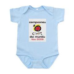Spain - Baskeball World Champ Infant Creeper