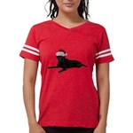 FIN-santa-blacklab Womens Football Shirt