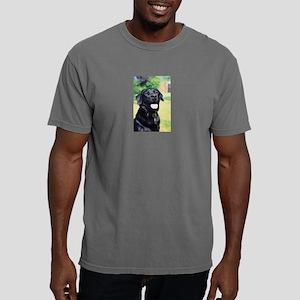 black-lab Mens Comfort Colors Shirt