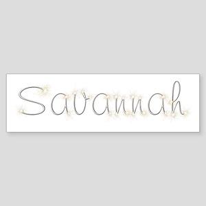 Savannah Spark Bumper Sticker