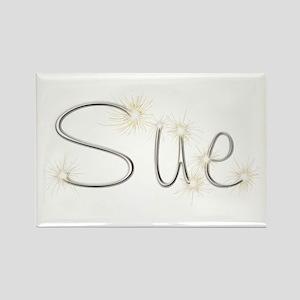 Sue Spark Rectangle Magnet