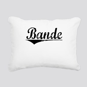 Bande, Aged, Rectangular Canvas Pillow