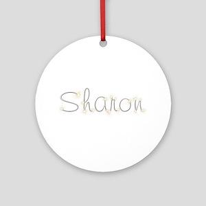 Sharon Spark Round Ornament