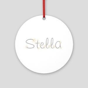 Stella Spark Round Ornament