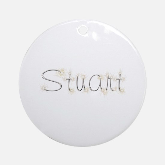 Stuart Spark Round Ornament