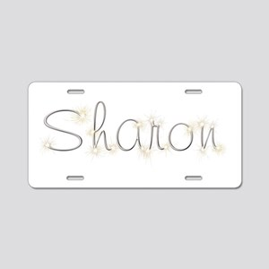 Sharon Spark Aluminum License Plate
