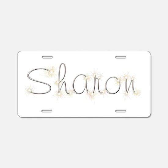 Sharon Spark Aluminum License Plate