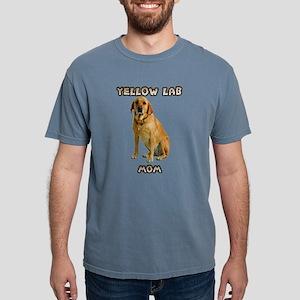 Yellow Lab Mom Mens Comfort Colors Shirt