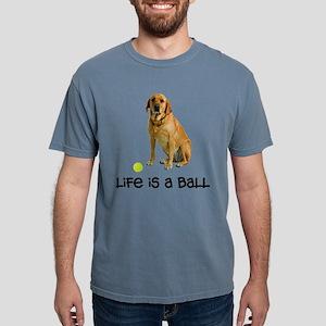 Yellow Lab Life Mens Comfort Colors Shirt