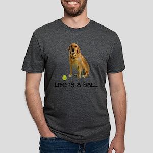 Yellow Lab Life Mens Tri-blend T-Shirt