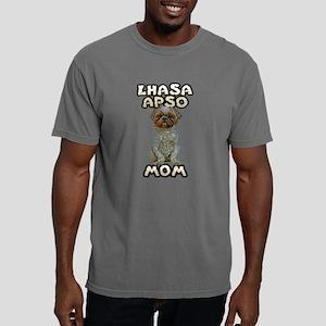 FIN-lhasa-apso-mom Mens Comfort Colors Shirt