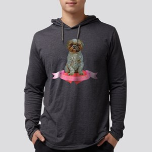 FIN-lhasa-apso-valentine Mens Hooded Shirt