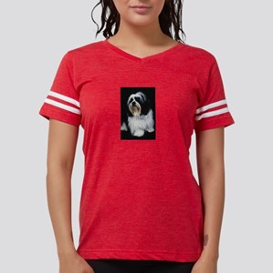 lhasa-apso Womens Football Shirt