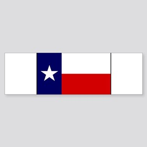 Texas Flag v1 Sticker (Bumper)