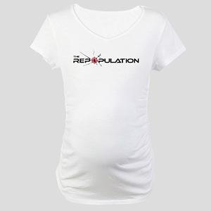 The Repopulation Logo Maternity T-Shirt