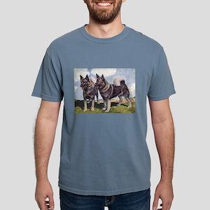 FIN-norwegian-elkhound-watercolor Mens Comfort