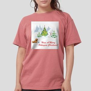 FIN-merry-pekingese-christmas Womens Comfort C