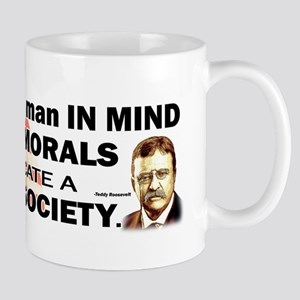 Teddy Roosevelt Quote - To Educate a Man Mug