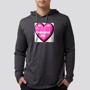 pomeranian-dog-FIN Mens Hooded Shirt