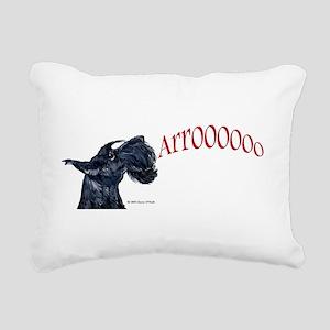 Arooo mug 14x6 Rectangular Canvas Pillow