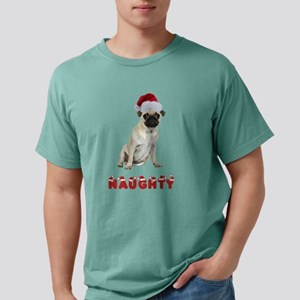 Naughty Pug Mens Comfort Colors Shirt