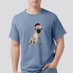 FIN-santa-pug-fawn-CROP Mens Comfort Colors Sh