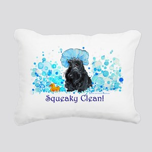 Squeaky clean January Rectangular Canvas Pillo