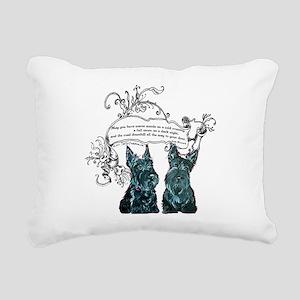 Irish proverb Rectangular Canvas Pillow