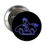 Kokopelli Race Car Driver Button