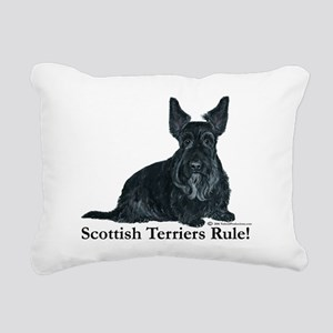 Scottish Terriers Rule 2006 Rectangular Canvas