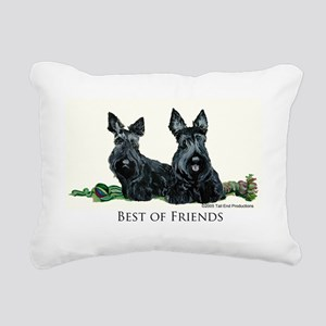 GoodFriends 3x8 Rectangular Canvas Pillow