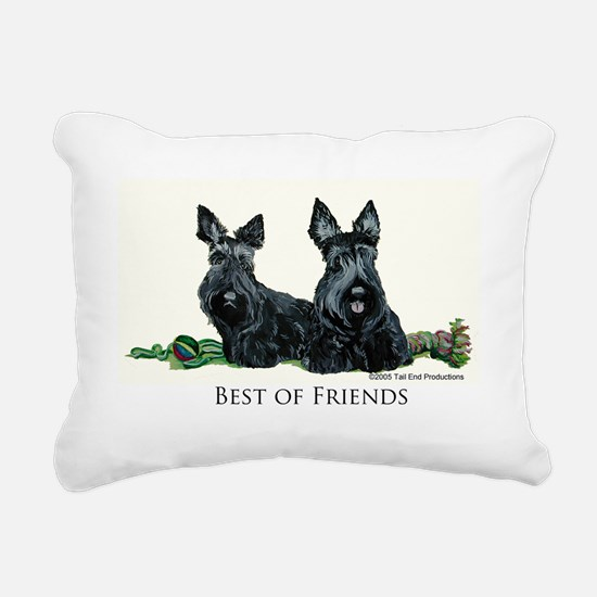 GoodFriends 3x8.png Rectangular Canvas Pillow