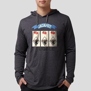FIN-puggle-slots Mens Hooded Shirt