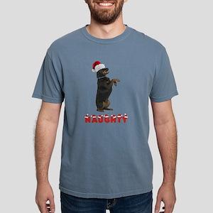 Naughty Rottweiler Mens Comfort Colors Shirt