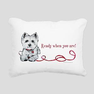 Ready Rectangular Canvas Pillow
