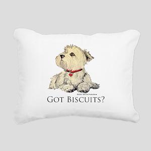 Biscuits6x6 2 Rectangular Canvas Pillow