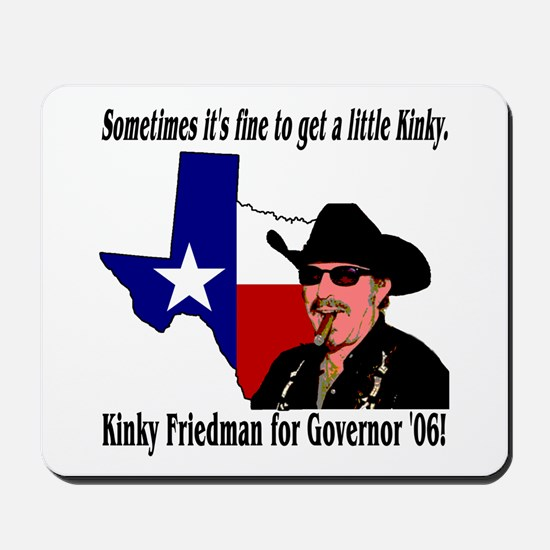 Texas Governor '06 Mousepad