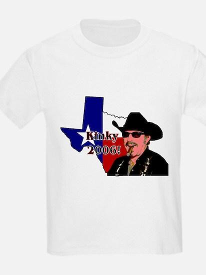 Kinky - TX Governor '06 Kids T-Shirt