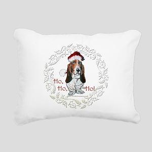 Ho ho ho 11x11 Rectangular Canvas Pillow