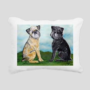 Griffies 5x7 Rectangular Canvas Pillow