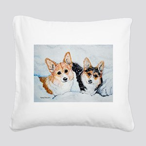 12x9 Square Canvas Pillow