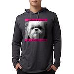 Heavenly Shih Tzu Mens Hooded Shirt