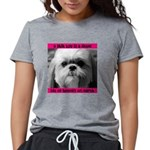 Heavenly Shih Tzu Womens Tri-blend T-Shirt