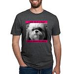 Heavenly Shih Tzu Mens Tri-blend T-Shirt