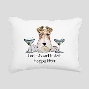 Foxtails 4 Rectangular Canvas Pillow