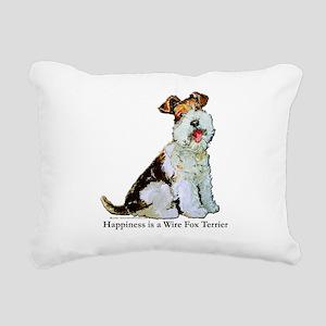 Happiness 8x8 Rectangular Canvas Pillow
