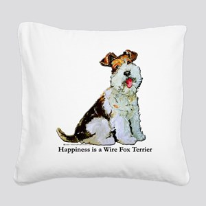 Happiness 8x8 Square Canvas Pillow