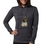 Good Shih Tzu Womens Hooded Shirt
