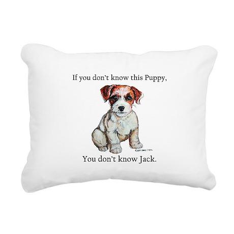 Just know Jack 11.png Rectangular Canvas Pillow