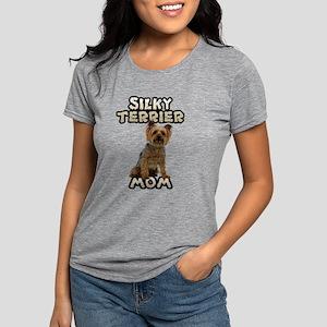 Silky Terrier Mom Womens Tri-blend T-Shirt